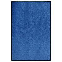 vidaXL Перима изтривалка, синя, 120x180 см