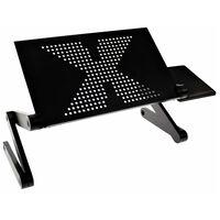 United Entertainment Многофункционална стойка за лаптоп, черна