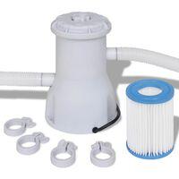 Филтрираща помпа за басейни с капацитет 530 gal/h