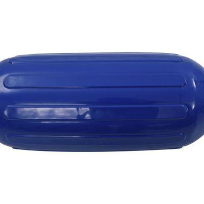 vidaXL Фендери за лодка, 2 бр, сини, 69x21,5 см, PVC