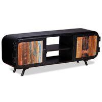 vidaXL ТВ шкаф, регенерирано дърво, 120x30x45 cм