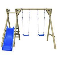 vidaXL Комплект люлки и пързалка, 270x255x210 cм