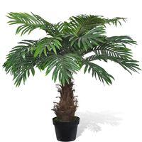 Изкуствена палма в саксия 80 см