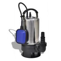 vidaXL Потопяема помпа за мръсна вода, 750 W, 12500 л / ч