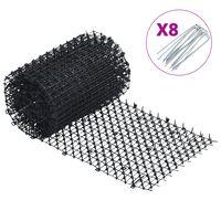 vidaXL Репелент за животни, 400x30 см, PP