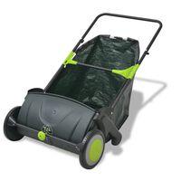 vidaXL Машина за почистване на трева, 103 л