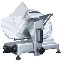 vidaXL Професионална електрическа колбасорезачка 250 мм