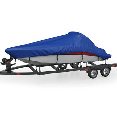 vidaXL Покривало за лодка, синьо, 440x260 см