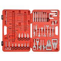 YATO Комплект инструменти за демонтаж на автомобилно радио, 52 части