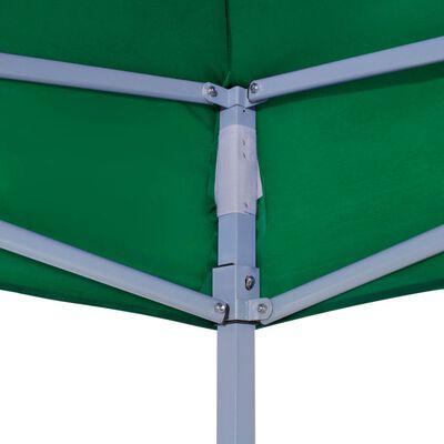 vidaXL Покривало за парти шатра, 6x3 м, зелено, 270 г/м²