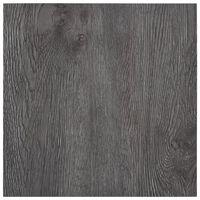 vidaXL Самозалепващи подови дъски, 5,11 м², PVC, кафяви