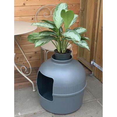 RHR Quality Flower XXL Grey Тоалетна за котка