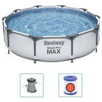 Bestway Steel Pro MAX Комплект басейн 305x76 см