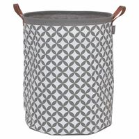 Sealskin Кош за пране Diamonds, сив, 60 л, 362302012