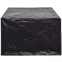 vidaXL Градинско покривало за мебели, 8 капси, 113x113x73 см
