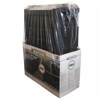 Nature Контейнер за компостиране, 1200 л, черен, 6071483