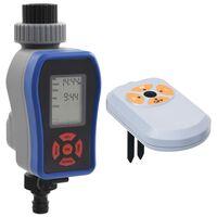 vidaXL Дигитален таймер за поливане с единичен изход и сензор за влага