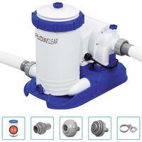 Bestway Филтърна помпа за басейн Flowclear 9463 л/ч