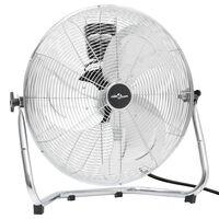 vidaXL Наземен вентилатор, 3 скорости, 55 см, 100 W, хромиран