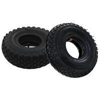 vidaXL Гуми/вътрешни гуми за транспортни колички, 2 бр, 3,00-4 260x85