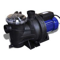 Помпа за басейн, електрическа 800W, синя