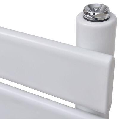vidaXL Лира за баня, централно отопление, прав дизайн, 600 x 1400 мм