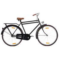 vidaXL Холандски велосипед 28 инча колело 57 см рамка мъжки