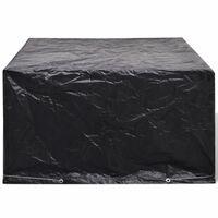 vidaXL Градинско покривало за мебели, 8 капси, 172x113x73 см