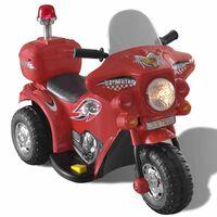 Детски мотор с акумулаторна батерия, червен