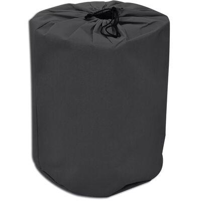 vidaXL Покривало за каравана, сиво, размер M