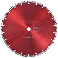 vidaXL Диамантен режещ диск, турбо, стомана, 300 мм