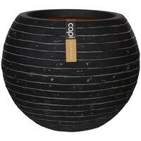 Capi Кашпа Nature Row, кръгла, 62x48 см, антрацит, KRWZ271