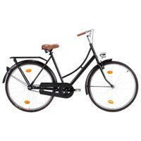 vidaXL Холандски велосипед 28 инча колело 57 см рамка дамски