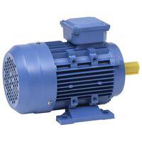 vidaXL Трифазен електромотор алуминий 1,5kW/2HP 2 полюса 2840 об/мин