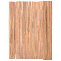 vidaXL Бамбукова ограда, 125x400 см