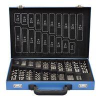 Комплект от 170 бр. свредла в метална кутия HSS EC