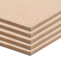 vidaXL 8 бр МДФ плоскости, квадратни, 60x60 см, 12 мм