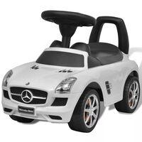 Детска кола за яздене Mercedes Benz, бяла