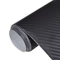 Покритие за автомобил с карбонови нишки, размер: 152 x 500 см