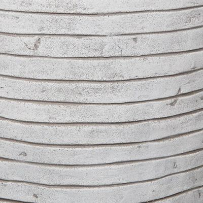 Capi Кашпа Nature Row, кръгла, 62x48 см, слонова кост, KRWI271