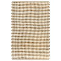 vidaXL Ръчно тъкан килим от юта, текстил, 120x180 см, естествен и бял