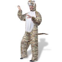 vidaXL Карнавален костюм на тигър, XL-XXL