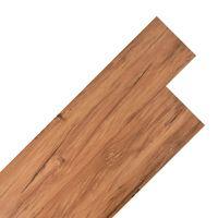 vidaXL Подови дъски от PVC 5,26 м² 2 мм цвят натурален бряст