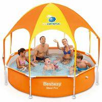 Bestway Splash-in-Shade Детски басейн с покривало 244x51 см 56432
