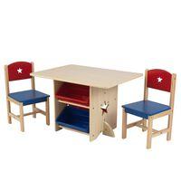 KidKraft Комплект масичка и 2 стола на звездички