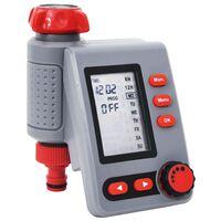 vidaXL Градински електронен таймер за поливане, единичен изход