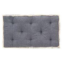 vidaXL Възглавница за палетен диван, синя, 73x40x7 см