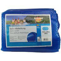 Summer Fun Лятно соларно покривало за басейн овал 525x320 см PE синьо