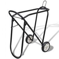 Подвижна стойка за седло (с колелца)