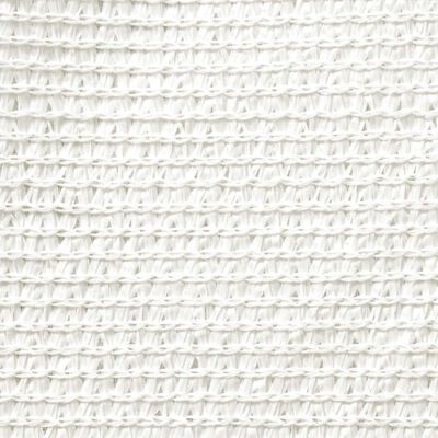 vidaXL Платно-сенник, HDPE, правоъгълно 4x6 м, бяло